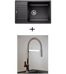AKCIÓ! Blanco Zia XL 6 S Compact + olasz zuhanyfejes Master csaptelep