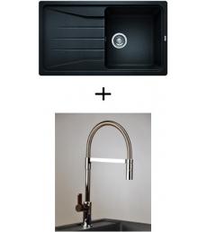 AKCIÓ! Blanco Sona 5 S + olasz zuhanyfejes Master csaptelep