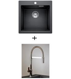 AKCIÓ! Blanco Pleon 5 + olasz zuhanyfejes Master csaptelep