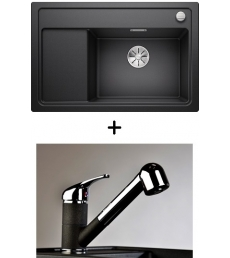 AKCIÓ! Blanco Zenar XL 6 S Compact + olasz zuhanyfejes Altea CR csaptelep