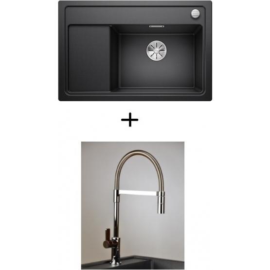 AKCIÓ! Blanco Zenar XL 6 S Compact + olasz zuhanyfejes Master csaptelep