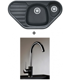 AKCIÓ! Franke COG 651E mosogató + olasz Infinity csaptelep