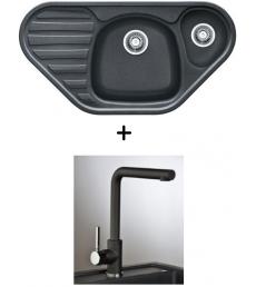 AKCIÓ! Franke COG 651E mosogató + olasz Jaguar csaptelep