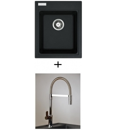 AKCIÓ! Franke KSG 218 mosogató + olasz zuhanyfejes Master csaptelep