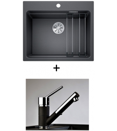 AKCIÓ! Blanco Etagon 6 + olasz zuhanyfejes Bruno csaptelep