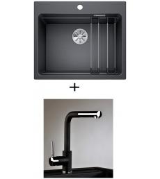 AKCIÓ! Blanco Etagon 6 + olasz zuhanyfejes Alano CR csaptelep