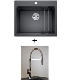AKCIÓ! Blanco Etagon 6 + olasz zuhanyfejes Master csaptelep