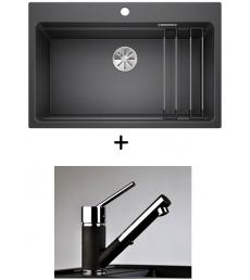 AKCIÓ! Blanco Etagon 8 + olasz zuhanyfejes Bruno csaptelep
