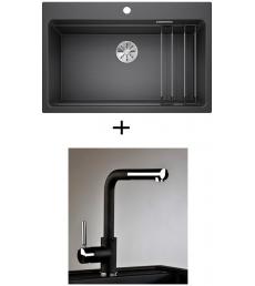 AKCIÓ! Blanco Etagon 8 + olasz zuhanyfejes Alano CR csaptelep