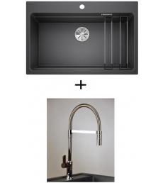 AKCIÓ! Blanco Etagon 8 + olasz zuhanyfejes Master csaptelep