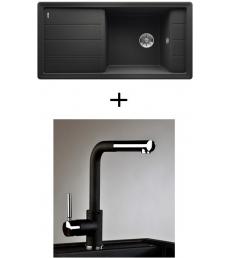 AKCIÓ! Blanco Faron XL 6 S + olasz zuhanyfejes Alano CR csaptelep
