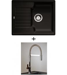 AKCIÓ! Blanco Zia 40 S + olasz zuhanyfejes Master csaptelep