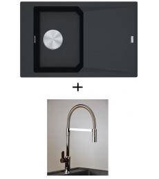 AKCIÓ! Franke FXG 611-78 + olasz zuhanyfejes Master csaptelep