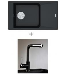 AKCIÓ! Franke FXG 611-86 + olasz zuhanyfejes Alano CR csaptelep