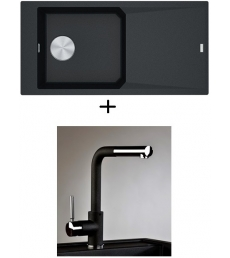AKCIÓ! Franke FXG 611-100 + olasz zuhanyfejes Alano CR csaptelep