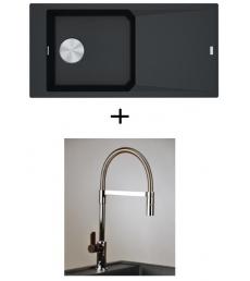 AKCIÓ! Franke FXG 611-100 + olasz zuhanyfejes Master csaptelep