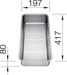 Blanco multifunkciós tál Andano modellhez - 227 692