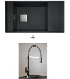 AKCIÓ! Franke FSG 611-88 mosogató + olasz zuhanyfejes Master csaptelep