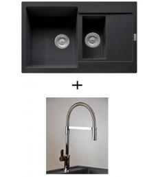 AKCIÓ! Franke MRG 651-78 + olasz zuhanyfejes Master csaptelep