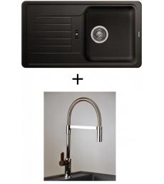 AKCIÓ! Blanco Favos Mini + olasz zuhanyfejes Master csaptelep