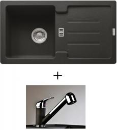 AKCIÓ! Franke STG 614-78 mosogató + olasz zuhanyfejes Altea CR csaptelep, 7 színben