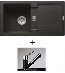 AKCIÓ! Franke STG 614-78 mosogató + olasz zuhanyfejes Bruno csaptelep, 7 színben