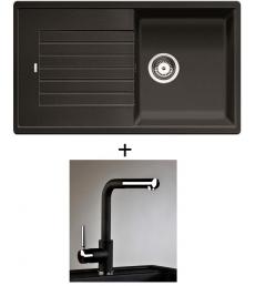 AKCIÓ! Blanco Zia 5 S + olasz zuhanyfejes Alano CR csaptelep, 7 színben