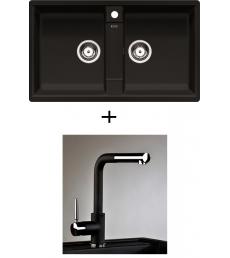 AKCIÓ! Blanco Zia 9 + olasz zuhanyfejes Alano CR  csaptelep, 7 színben