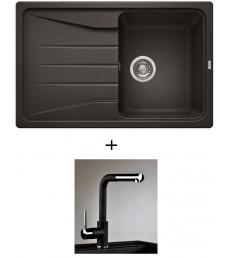 AKCIÓ! Blanco Sona 45 S + olasz zuhanyfejes Alano CR csaptelep, 7 színben