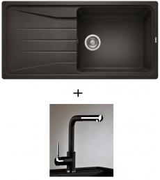 AKCIÓ! Blanco Sona XL 6 S + olasz zuhanyfejes Alano CR csaptelep, 7 színben