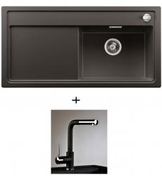 AKCIÓ! Blanco Zenar XL 6 S jobbos + olasz zuhanyfejes Alano CR csaptelep, 7 színben