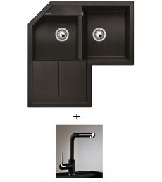 AKCIÓ! Blanco Metra 9 E + olasz zuhanyfejes Alano CR csaptelep, 7 színben