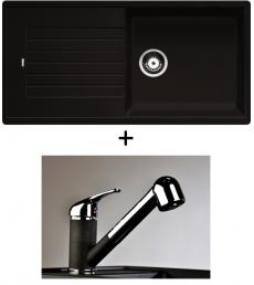 AKCIÓ! Blanco Zia XL 6 S + olasz zuhanyfejes Altea CR csaptelep, 7 színben