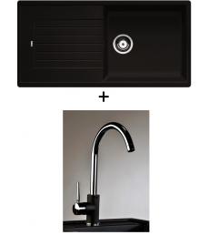 AKCIÓ! Blanco Zia XL 6 S + olasz Infinity csaptelep, 7 színben