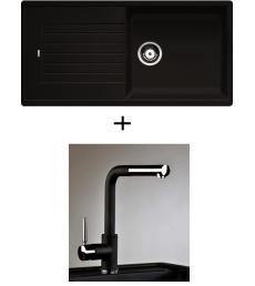 AKCIÓ! Blanco Zia XL 6 S + olasz zuhanyfejes Alano CR csaptelep, 7 színben