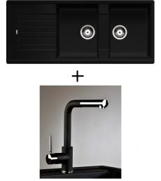 AKCIÓ! Blanco Zia 8 S + olasz zuhanyfejes Alano CR csaptelep, 7 színben