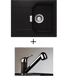 AKCIÓ! Schock Manhattan D-100 XS + olasz zuhanyfejes Altea CR csaptelep, 3 színben