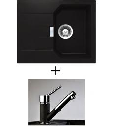 AKCIÓ! Schock Manhattan D-100 XS + olasz zuhanyfejes Bruno csaptelep, 3 színben