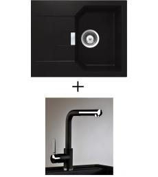 AKCIÓ! Schock Manhattan D-100 XS + olasz zuhanyfejes Alano CR csaptelep, 3 színben