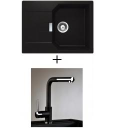 AKCIÓ! Schock Manhattan D-100S + olasz zuhanyfejes Alano CR csaptelep, 5 színben