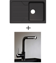 AKCIÓ! Schock Formhaus D-100S + olasz zuhanyfejes Alano CR csaptelep, 3 színben