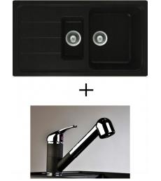 AKCIÓ! Schock Formhaus D-150 + olasz zuhanyfejes Altea CR csaptelep, 2 színben