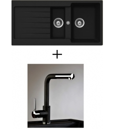 AKCIÓ! Schock Typos D-150 + olasz zuhanyfejes Alano CR csaptelep, 3 színben