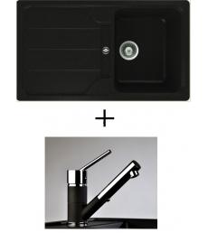 AKCIÓ! Teka Simpla 45 B-TG + olasz zuhanyfejes Bruno csaptelep, 3 színben