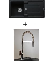 AKCIÓ! Franke STG 614 mosogató + olasz zuhanyfejes Master csaptelep, SZÁLLÍTÁS 24 ÓRA!!!