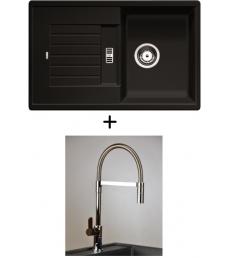 AKCIÓ! Blanco Zia 45 S + olasz zuhanyfejes Master csaptelep, 7 színben