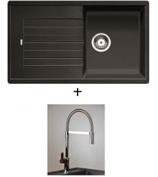 AKCIÓ! Blanco Zia 5 S + olasz zuhanyfejes Master csaptelep, 7 színben