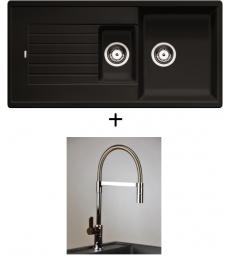AKCIÓ! Blanco Zia 6 S + olasz zuhanyfejes Master csaptelep, 7 színben
