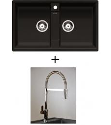 AKCIÓ! Blanco Zia 9 + olasz zuhanyfejes Master csaptelep, 7 színben