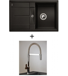 AKCIÓ! Blanco Metra 45 S + olasz zuhanyfejes Master csaptelep, 7 színben